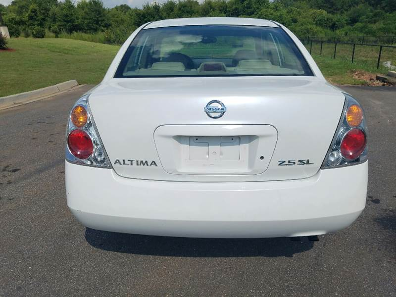 2003 Nissan Altima for sale at Palmetto Used Cars in Piedmont SC