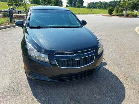 2012 Chevrolet Cruze for sale at Palmetto Used Cars in Piedmont SC