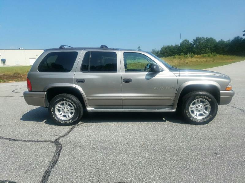 2002 Dodge Durango for sale at Palmetto Used Cars in Piedmont SC