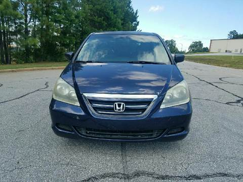 2006 Honda Odyssey for sale at Palmetto Used Cars in Piedmont SC