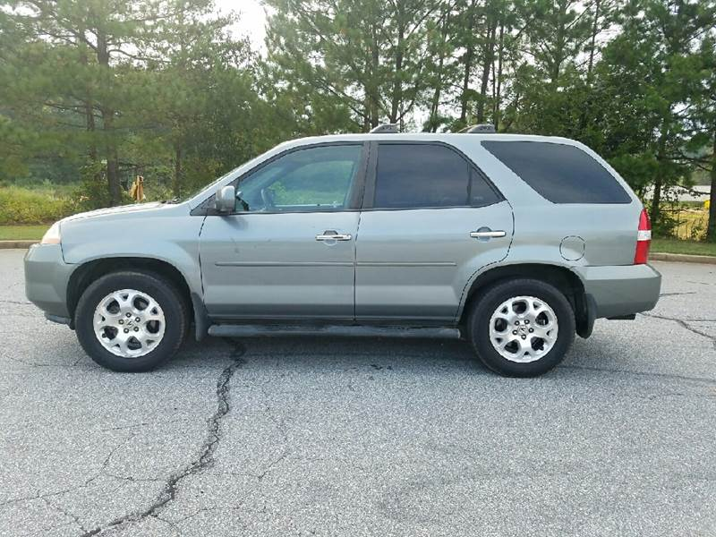 2002 Acura MDX for sale at Palmetto Used Cars in Piedmont SC