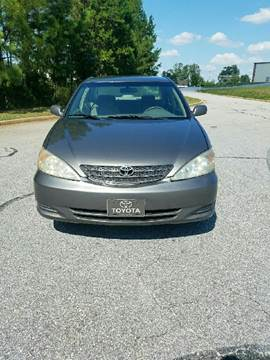 2004 Toyota Camry for sale at Palmetto Used Cars in Piedmont SC