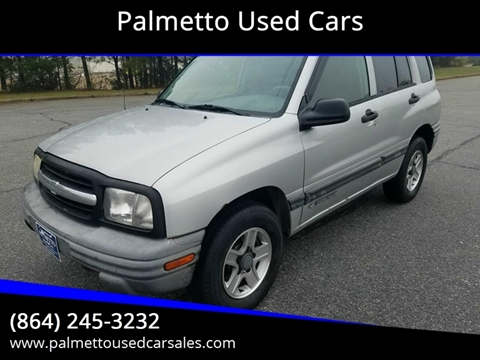 2003 Chevrolet Tracker for sale in Piedmont, SC
