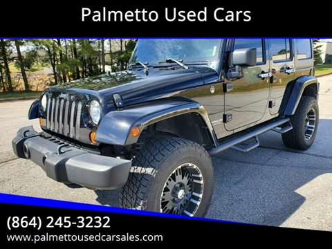 2008 Jeep Wrangler Unlimited for sale in Piedmont, SC
