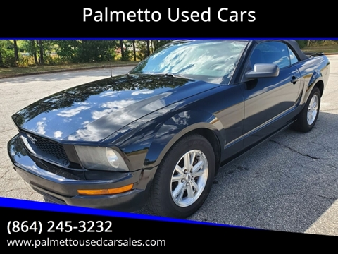 2007 Ford Mustang for sale in Piedmont, SC