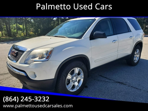 2011 GMC Acadia for sale in Piedmont, SC