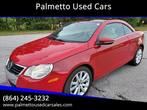 2010 Volkswagen Eos for sale in Piedmont, SC