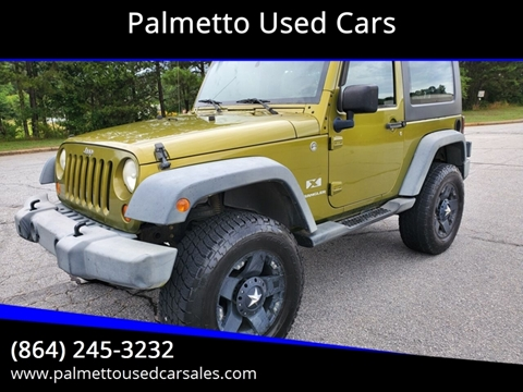 2007 Jeep Wrangler for sale in Piedmont, SC