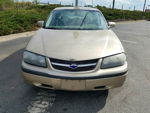 2004 Chevrolet Impala for sale at Palmetto Used Cars in Piedmont SC