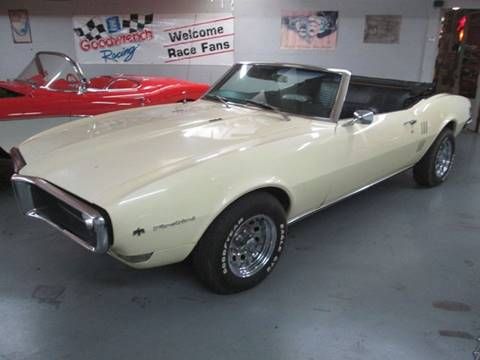 1968 Pontiac Firebird For Sale  Carsforsalecom