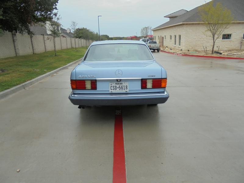 1991 Mercedes-Benz 420-Class 420 SEL 4dr Sedan - Murphy TX