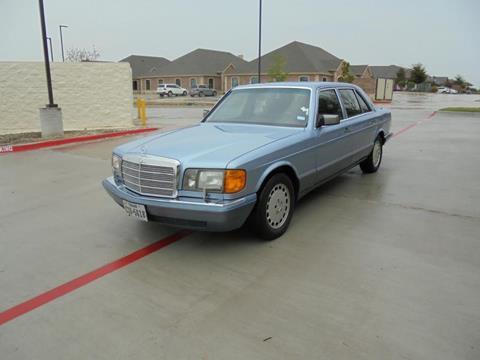 1991 Mercedes-Benz 420-Class for sale in Murphy, TX