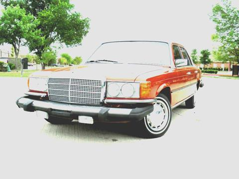 1980 Mercedes-Benz 300-Class for sale in Murphy, TX