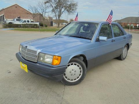 Used Mercedes Benz 190 Class For Sale In Texas Carsforsale Com