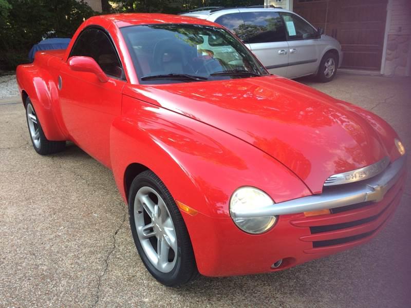 2003 Chevrolet Ssr 2dr Regular Cab Convertible LS Rwd SB In