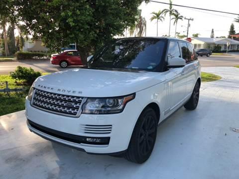 2014 Land Rover Range Rover for sale in Miami FL