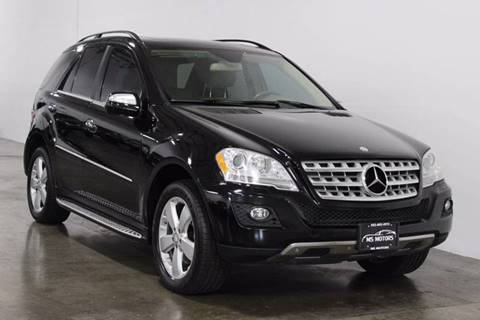 2010 Mercedes-Benz M-Class for sale at MS Motors in Portland OR