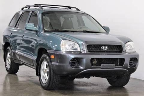 2003 Hyundai Santa Fe for sale at MS Motors in Portland OR