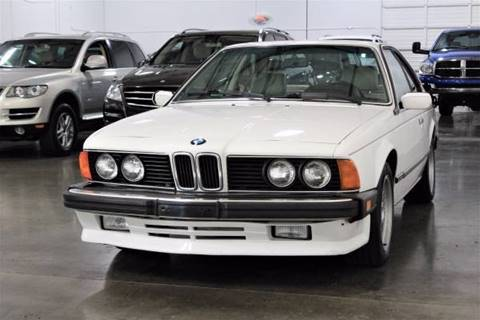 1987 BMW 6 Series for sale at MS Motors in Portland OR