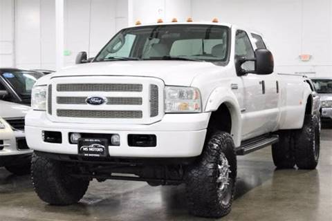 2006 Ford F-350 Super Duty for sale at MS Motors in Portland OR