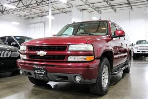 2004 Chevrolet Suburban for sale at MS Motors in Portland OR