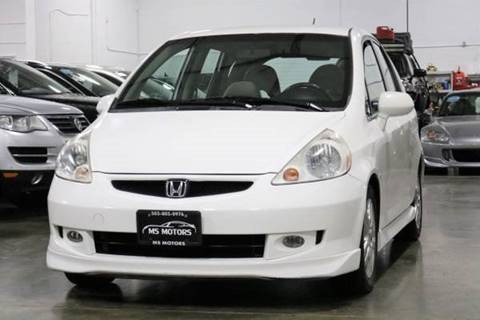 2007 Honda Fit for sale at MS Motors in Portland OR