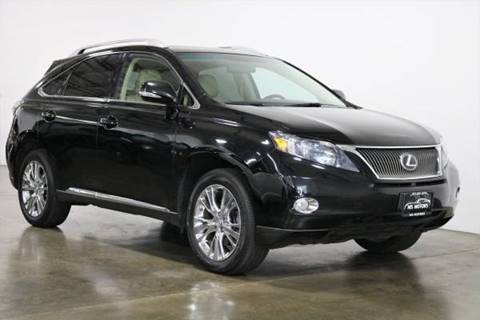 2010 Lexus RX 450h for sale at MS Motors in Portland OR