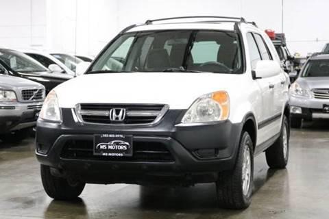 2003 Honda CR-V for sale at MS Motors in Portland OR