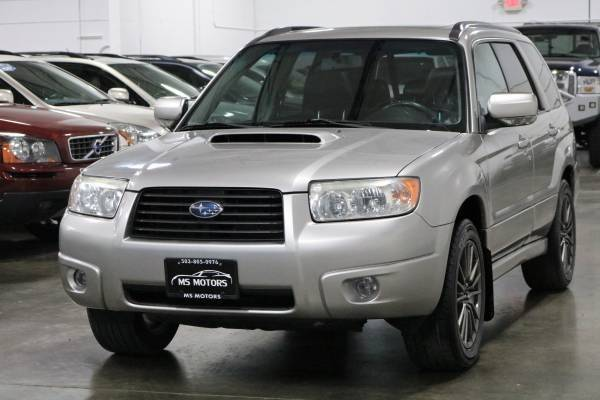 2007 Subaru Forester Awd 25 Xt Limited 4dr Wagon 25l F4 5m In