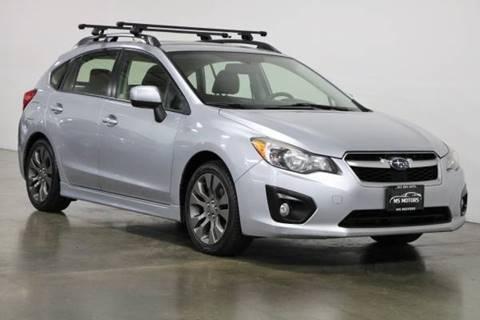 2013 Subaru Impreza for sale at MS Motors in Portland OR