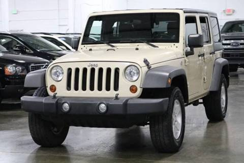 2011 Jeep Wrangler Unlimited for sale at MS Motors in Portland OR