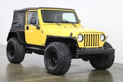 2004 Jeep Wrangler for sale at MS Motors in Portland OR