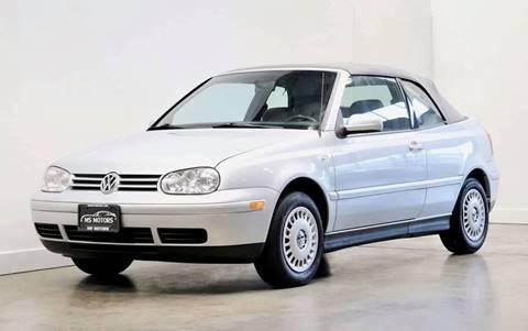 2002 Volkswagen Cabrio for sale in Portland, OR