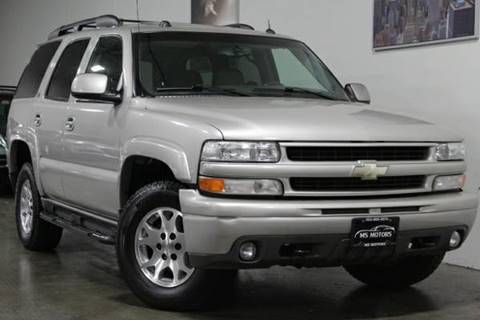 2004 Chevrolet Tahoe for sale at MS Motors in Portland OR
