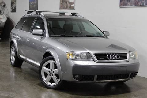 2004 Audi Allroad Quattro for sale at MS Motors in Portland OR