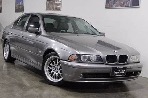 2003 BMW 5 Series for sale at MS Motors in Portland OR