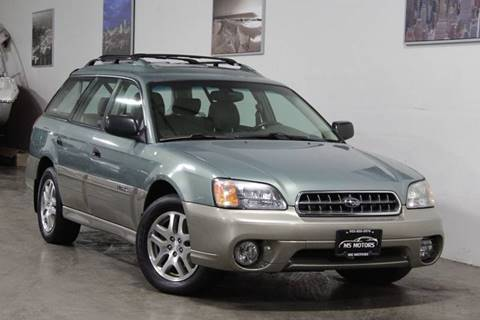2004 Subaru Outback for sale at MS Motors in Portland OR