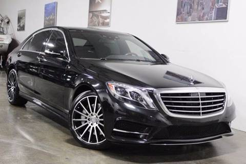 2015 Mercedes-Benz S-Class for sale at MS Motors in Portland OR