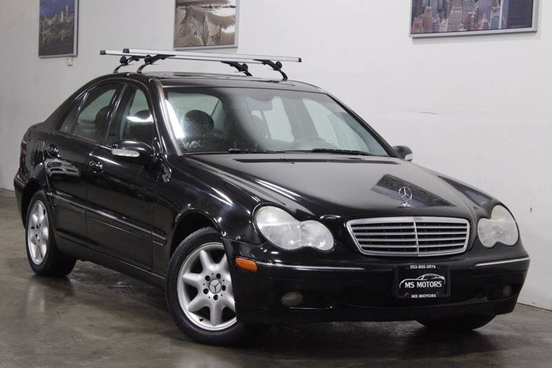 2004 Mercedes Benz C Class Awd C 240 4matic 4dr Sedan In