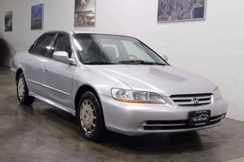 2001 Honda Accord for sale at MS Motors in Portland OR