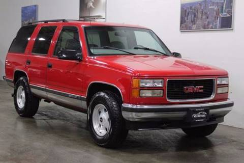 1999 GMC Yukon for sale at MS Motors in Portland OR
