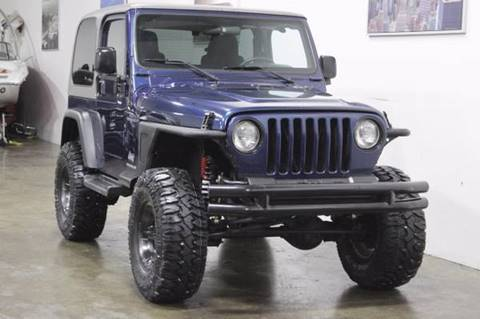 2005 Jeep Wrangler for sale at MS Motors in Portland OR