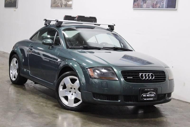 2002 Audi Tt Awd 225hp Quattro 2dr Hatchback In Portland Or Ms Motors