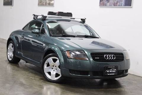 2002 Audi TT for sale at MS Motors in Portland OR