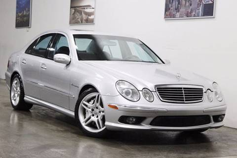 2003 Mercedes-Benz E-Class for sale at MS Motors in Portland OR