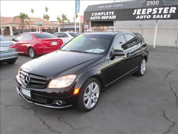 2011 Mercedes-Benz C-Class for sale in Costa Mesa, CA