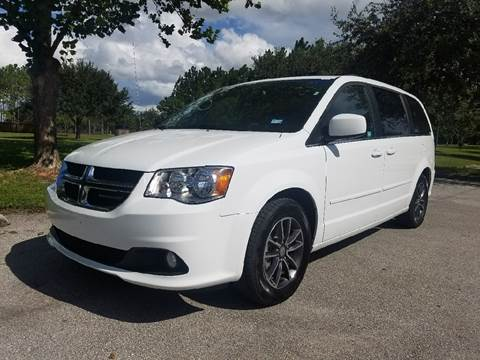 2017 Dodge Grand Caravan for sale at All About Price in Orlando FL