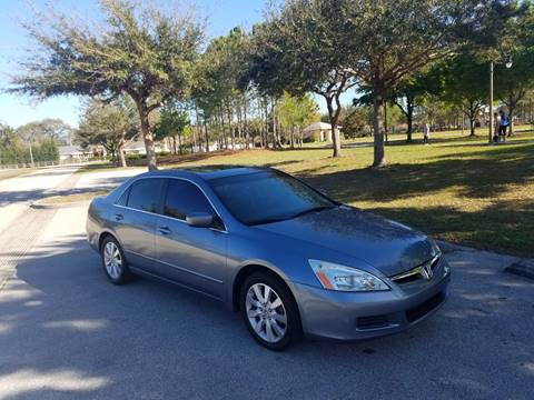 2007 Honda Accord for sale at All About Price in Orlando FL