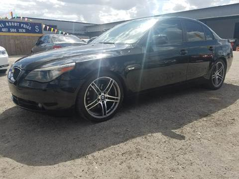 2007 BMW 5 Series for sale at All About Price in Orlando FL