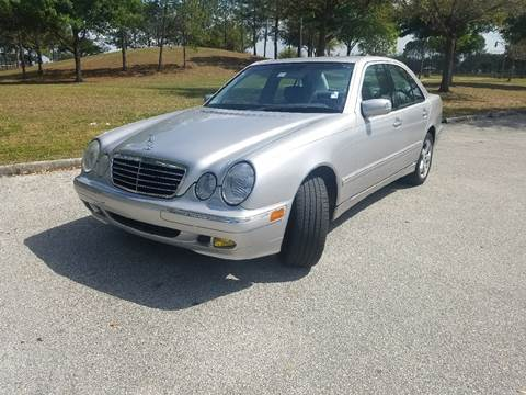 2002 Mercedes-Benz E-Class for sale at All About Price in Orlando FL